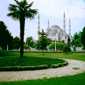 istanbul blue mosque turkey